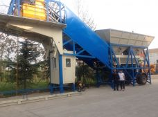 YHZS75 Mobile Concrete Batching Plant