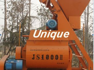 The use of concrete mixer